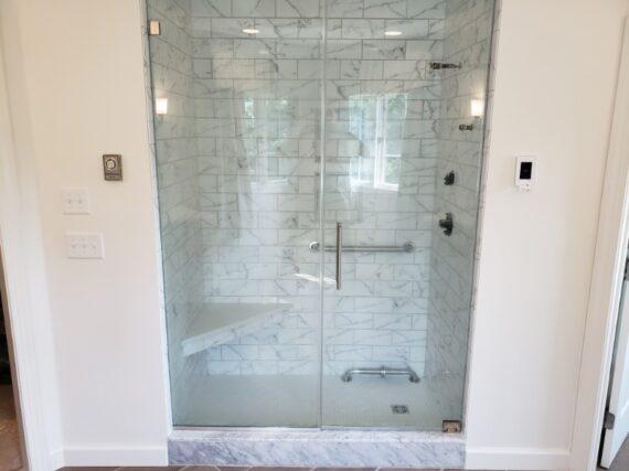 Bathroom Shower built and designed by LeFaivre Bathroom Contractors